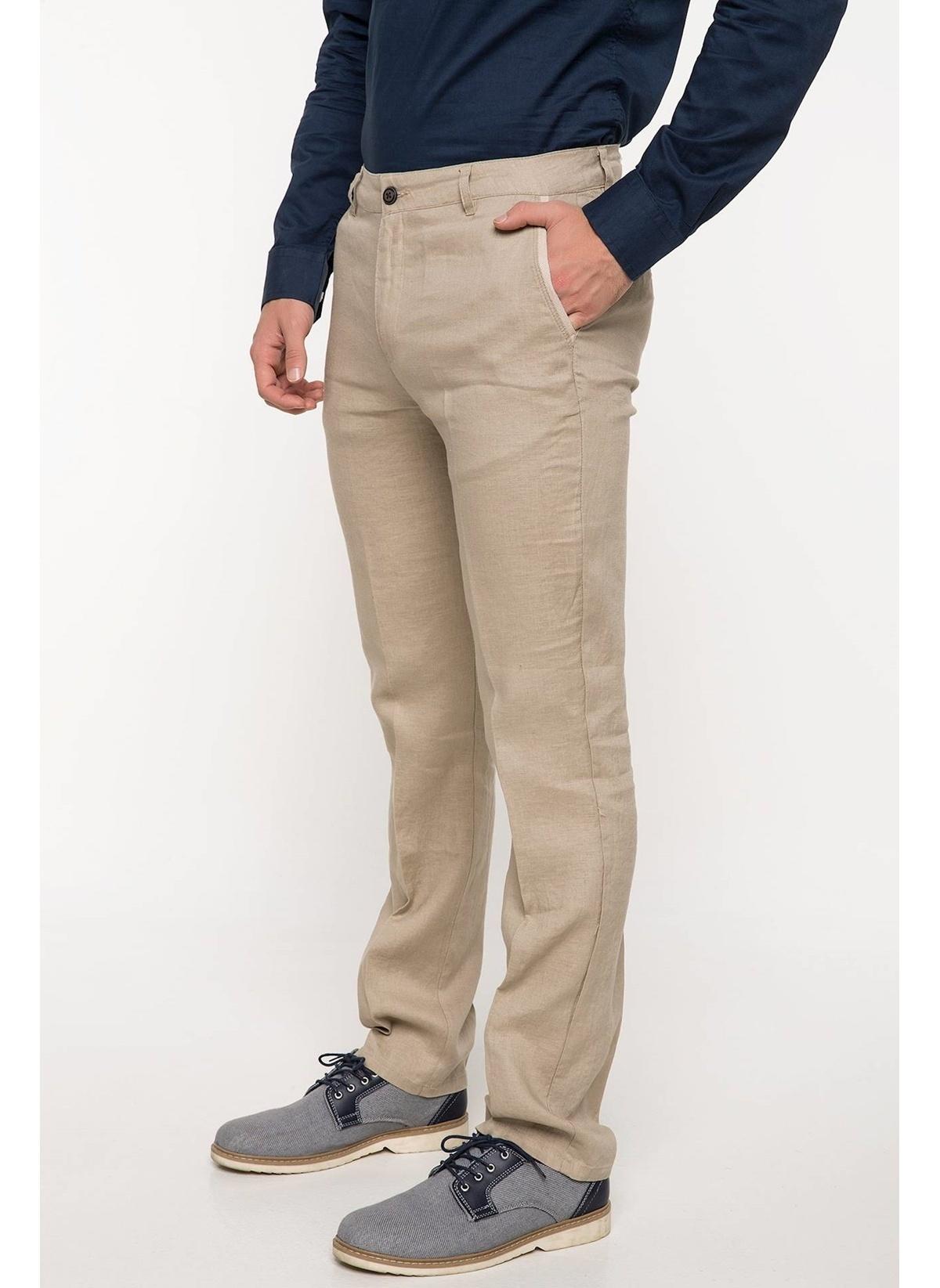 Defacto Oscar Keten Chino Pantolon G8339az18smbg193 Pantolon – 99.99 TL